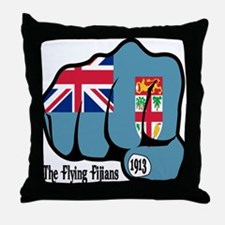 Fijian Fist 1913 Throw Pillow