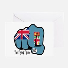 Fijian Fist 1913 Greeting Cards (Pk of 10)