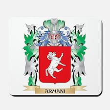 Armani Coat of Arms - Family Crest Mousepad