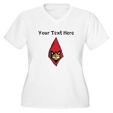 Cardinal Head Plus Size T-Shirt