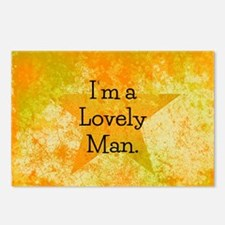 Im a Lovely Man Postcards (Package of 8)