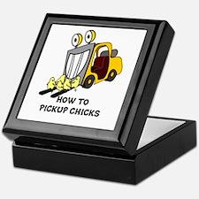 Cool Chick Keepsake Box