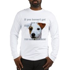 Cute Wire haired jack russell terrier Long Sleeve T-Shirt