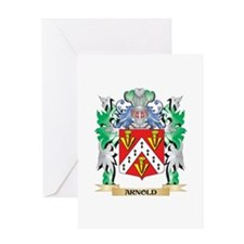Arnold Coat of Arms - Family Crest Greeting Cards