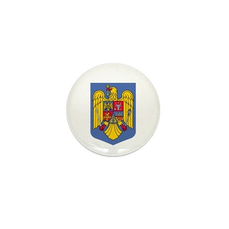 Romanian Coat of Arms Mini Button (100 pack)