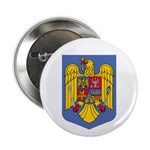 Romanian Coat of Arms Button