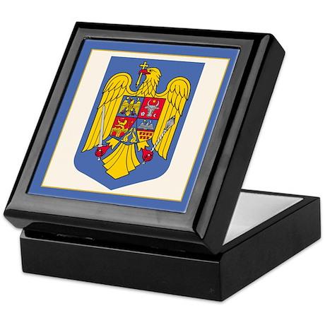 Romanian Coat of Arms Keepsake Box