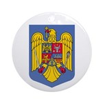 Romanian Coat of Arms Ornament (Round)
