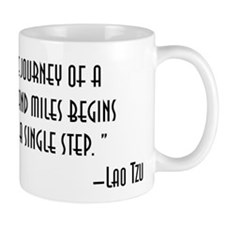 The Journey of a Thousand Miles Mugs