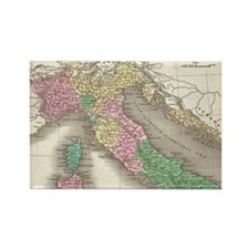 Vintage Map of Italy (1827) Magnets
