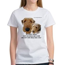 Unique Airedale terrier Tee