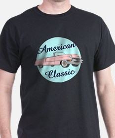 American Classic Cadillac in pink T-Shirt