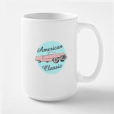 American Classic Cadillac in pink Mug