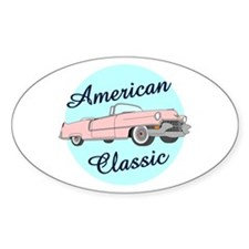 American Classic Cadillac in pink Decal