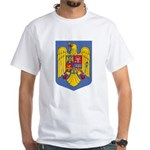 Romanian Coat of Arms White T-Shirt