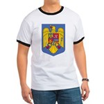 Romanian Coat of Arms Ringer T