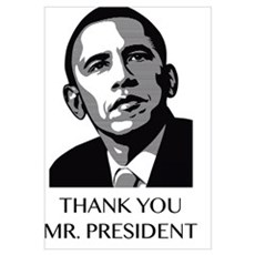 Thank you Mr. President Poster