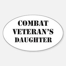 Combat Vet's Daughter Decal