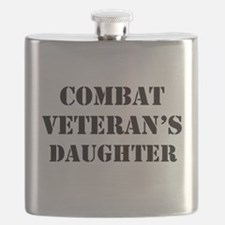 Combat Vet's Daughter Flask