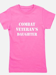 Combat Vet's Daughter Girl's Tee