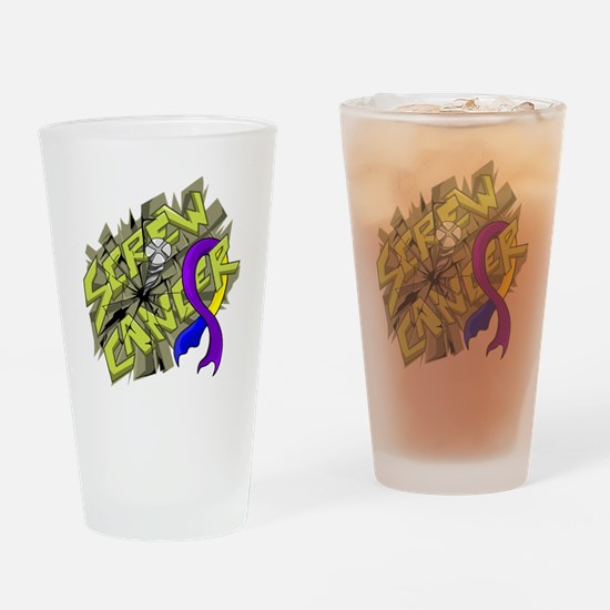 Funny Suck it Drinking Glass