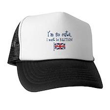 So Cute British Trucker Hat
