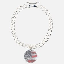 Proud To Be Right Charm Bracelet, One Charm