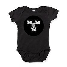 Cute Black butterfly Baby Bodysuit