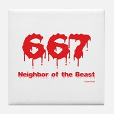 Neighbor Tile Coaster