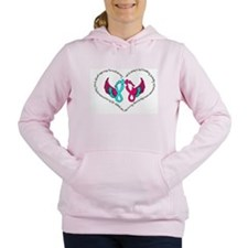 Unique Pregnancy Women's Hooded Sweatshirt