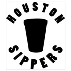 HOUSTON SIPPERS Framed Print