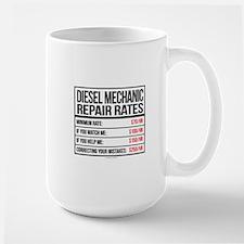 Diesel Mechanic Repair Rates Mugs
