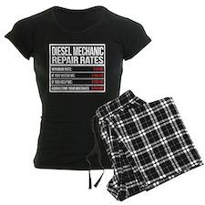 Diesel Mechanic Repair Rates Pajamas