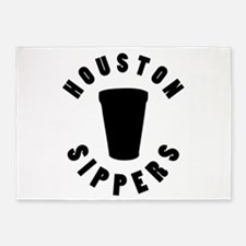 HOUSTON SIPPERS 5'x7'Area Rug