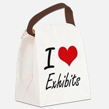 I love EXHIBITS Canvas Lunch Bag