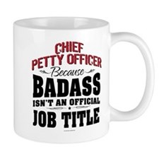 Badass Chief Petty Officer Mugs