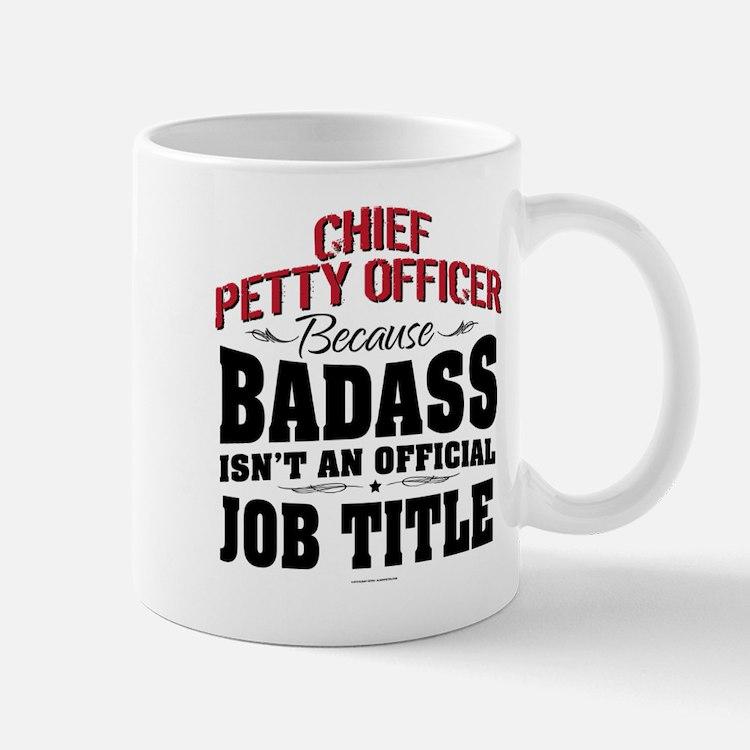 Badass Chief Petty Officer Mugs