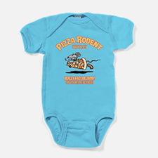 Pizza Rodent Baby Bodysuit