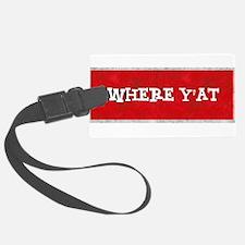 where YAT Luggage Tag