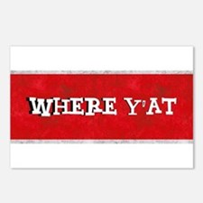 where YAT Postcards (Package of 8)