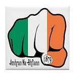 Irish Fist 1879 Tile Coaster