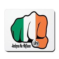 Irish Fist 1879 Mousepad