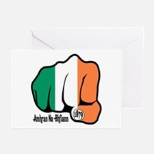 Irish Fist 1879 Greeting Cards (Pk of 10)