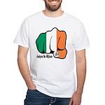 Irish Fist 1879 White T-Shirt