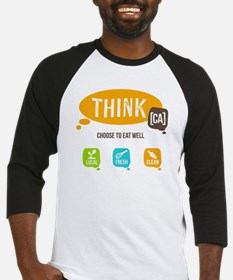 Think [CA]  Baseball Jersey