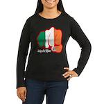 Irish Fist 1879 Women's Long Sleeve Dark T-Shirt