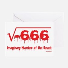 Imaginary Number Greeting Cards (Pk of 20)