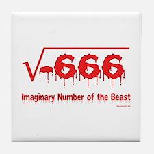Imaginary Number Tile Coaster