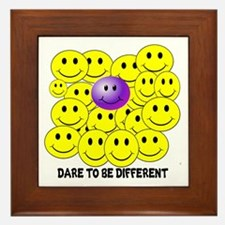DARE TO BE DIFFERENT Framed Tile