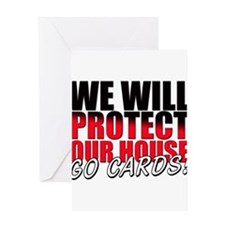 Protect Our House Greeting Card
